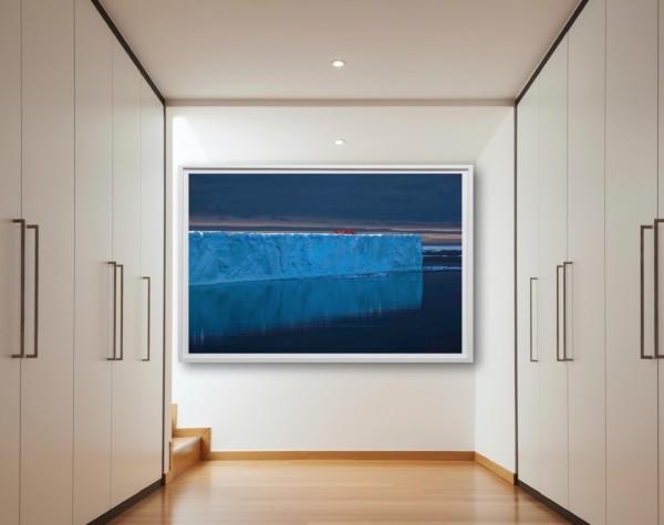 large format photo iceberg