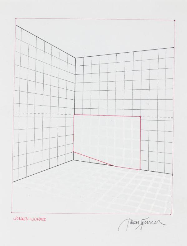James Turrell, Jones-Jones from Projection Piece Drawings, 1970-1971