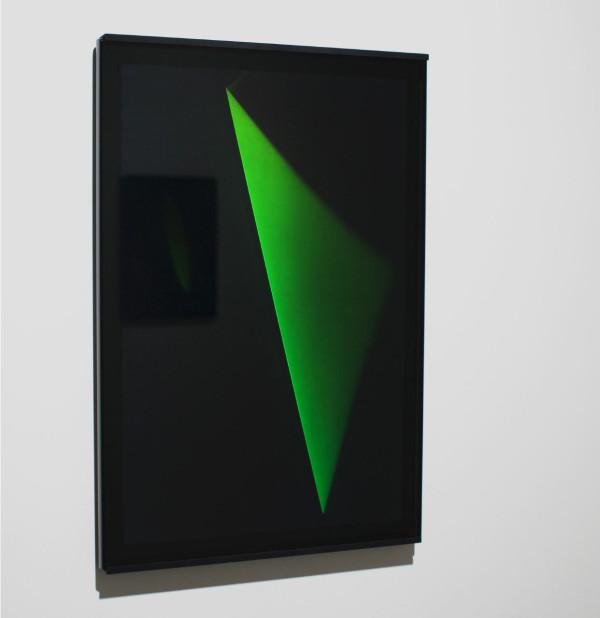Untitled (XXXII E) October 2014, reflection hologram