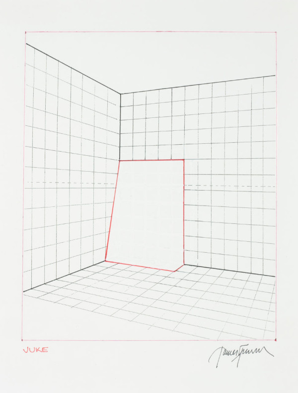 James Turrell, Juke from Projection Piece Drawings, 1970-1971