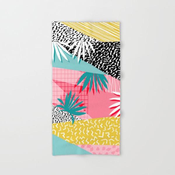 throwback-retro-memphis-pattern-art-bath-towel