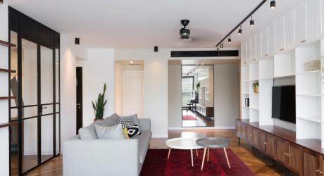 A Bauhaus Apartment in Tel Aviv by Raanan Stern