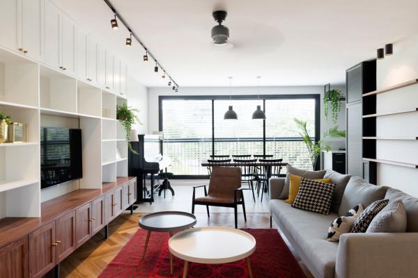 Bauhaus Apartment Raanan Stern 2