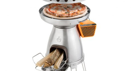 BaseCamp's Wood-Fired Pizza Oven for Camping