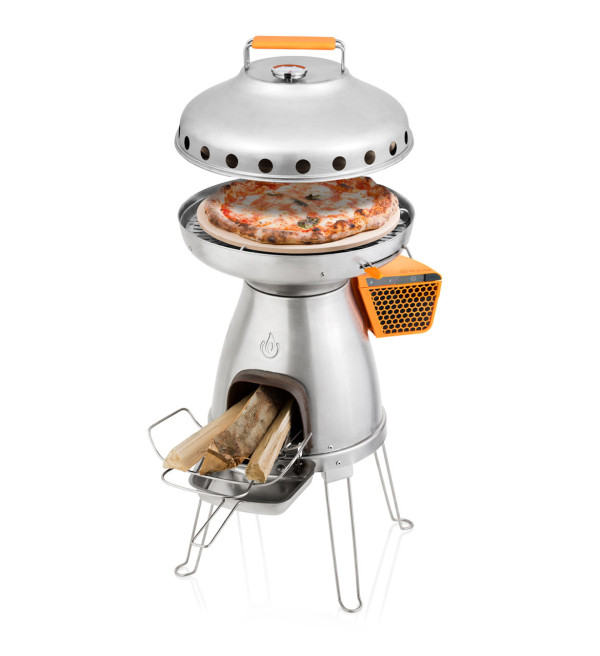 BaseCamp?s Wood-Fired Pizza Oven for Camping