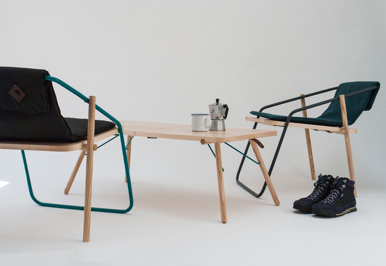 A Range of Folding Furniture for Indoors or Outdoors
