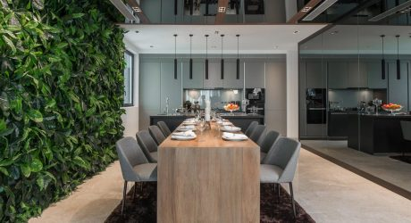 A Malaysian Apartment That Focuses on Natural Materials