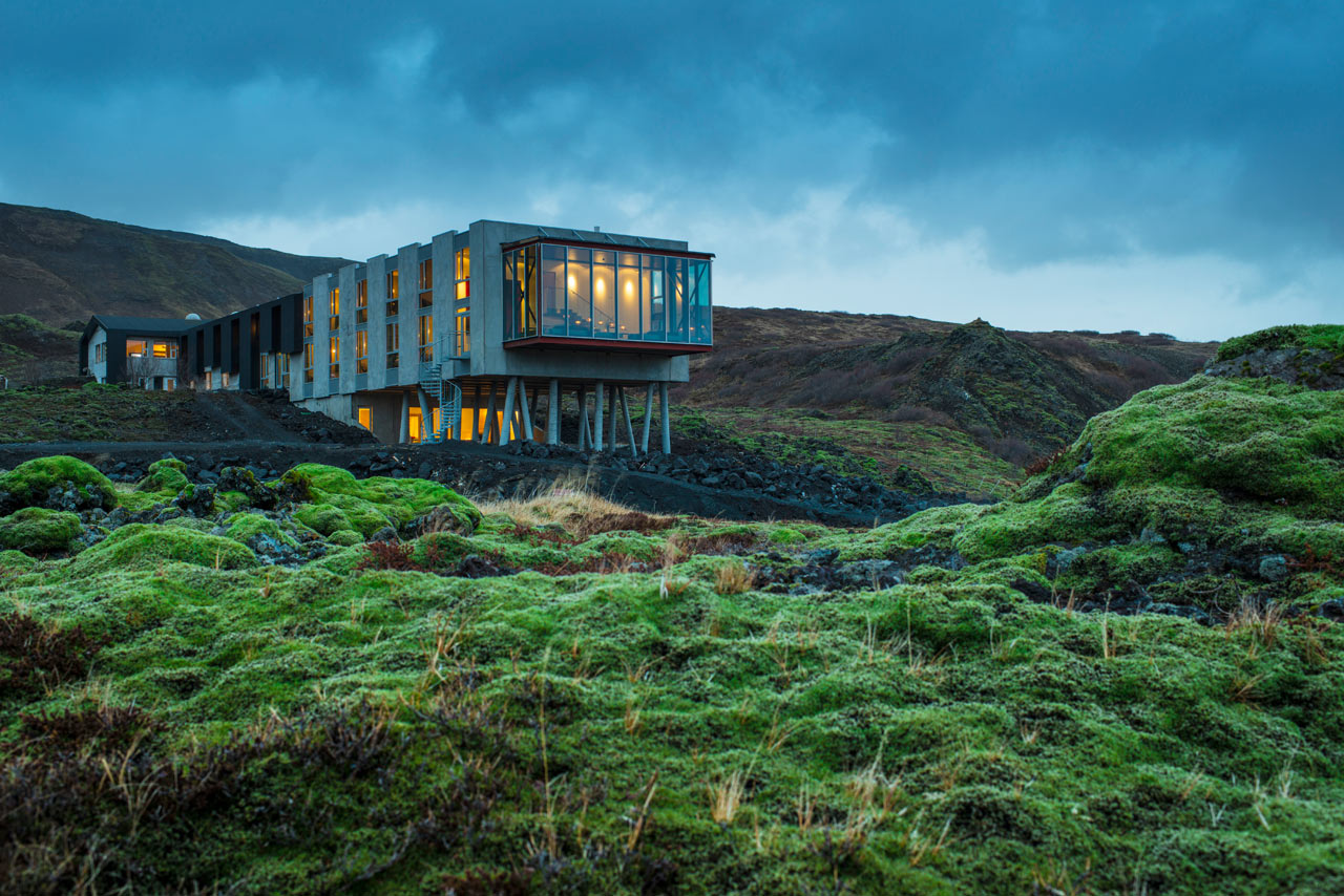 An Abandoned Inn Becomes an Eco-Conscious Hotel in Iceland