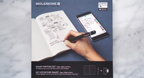 Moleskine's Smart Writing Set Digitizes Your Work As You Write