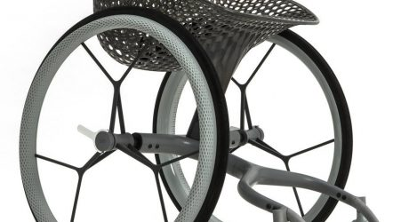 LayerLAB's Made-to-Measure 3D-printed GO Wheelchair