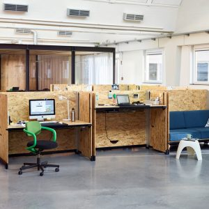 Hack: Functional, Raw, and Industrial Desk Systems