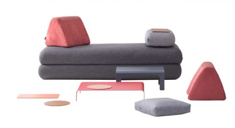 A Multifunctional Sofa for Urban Nomads