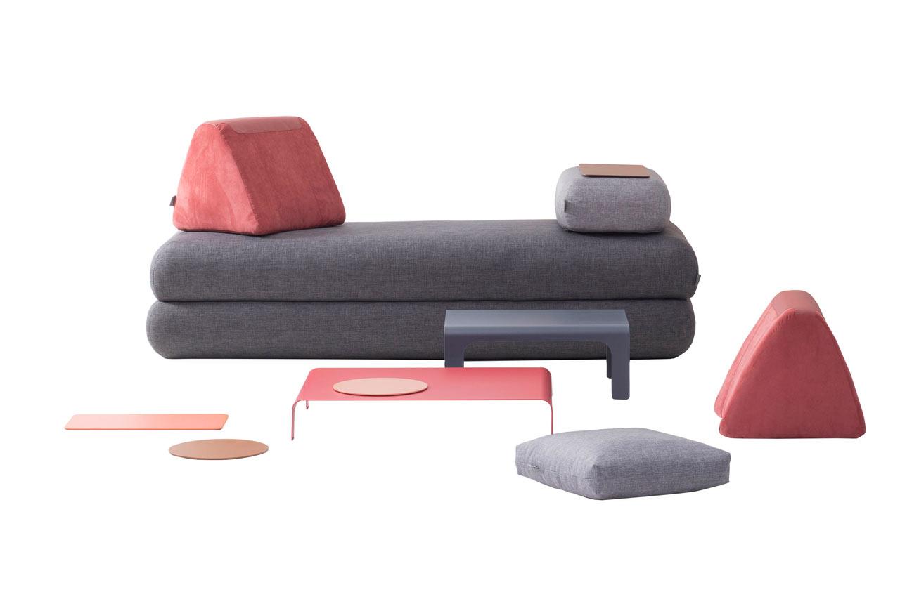 A Multifunctional Sofa For Urban Nomads Design Milk