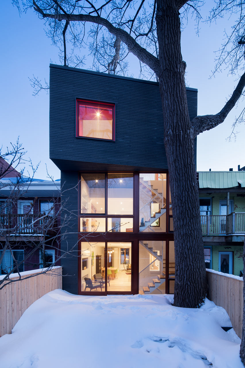 A Renovation That Pays Respect to its Original Character & a Tree
