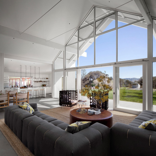 A certified leed platinum barn house design milk for Room 4 design leeds