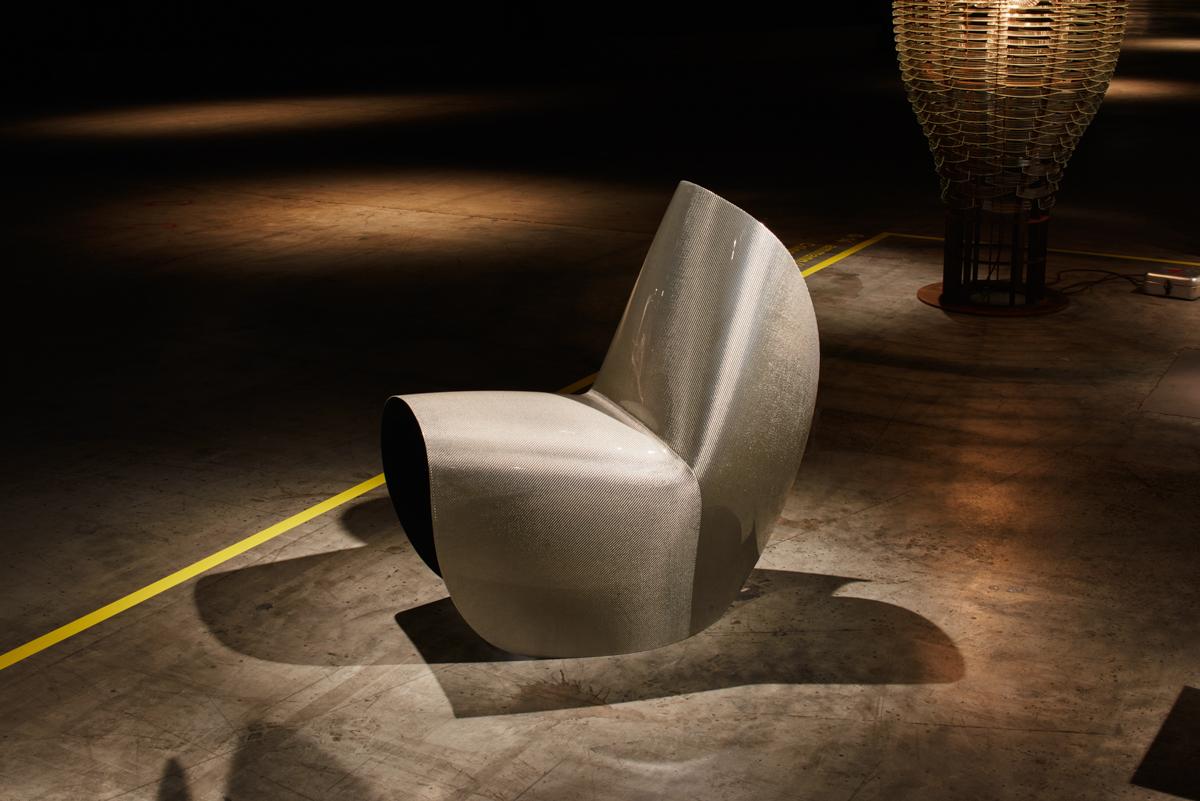Zaha Hadid's Kuki Chair Gets a Redesign