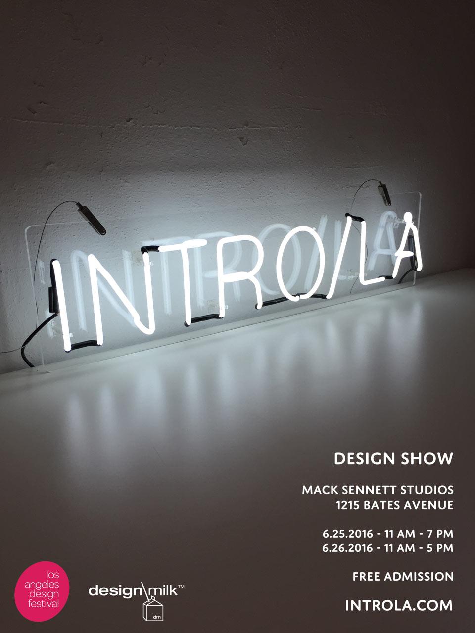 INTRO/LA 2016: West Coast Design