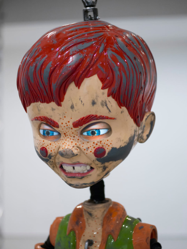 Jordan Wolfson, Colored Sculpture, 2016 (detail)