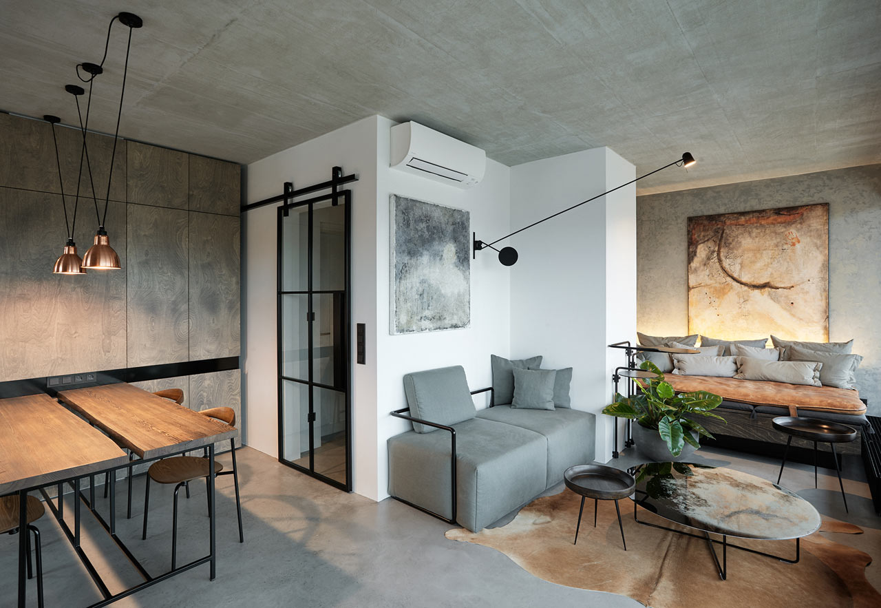 An industrial loft in prague