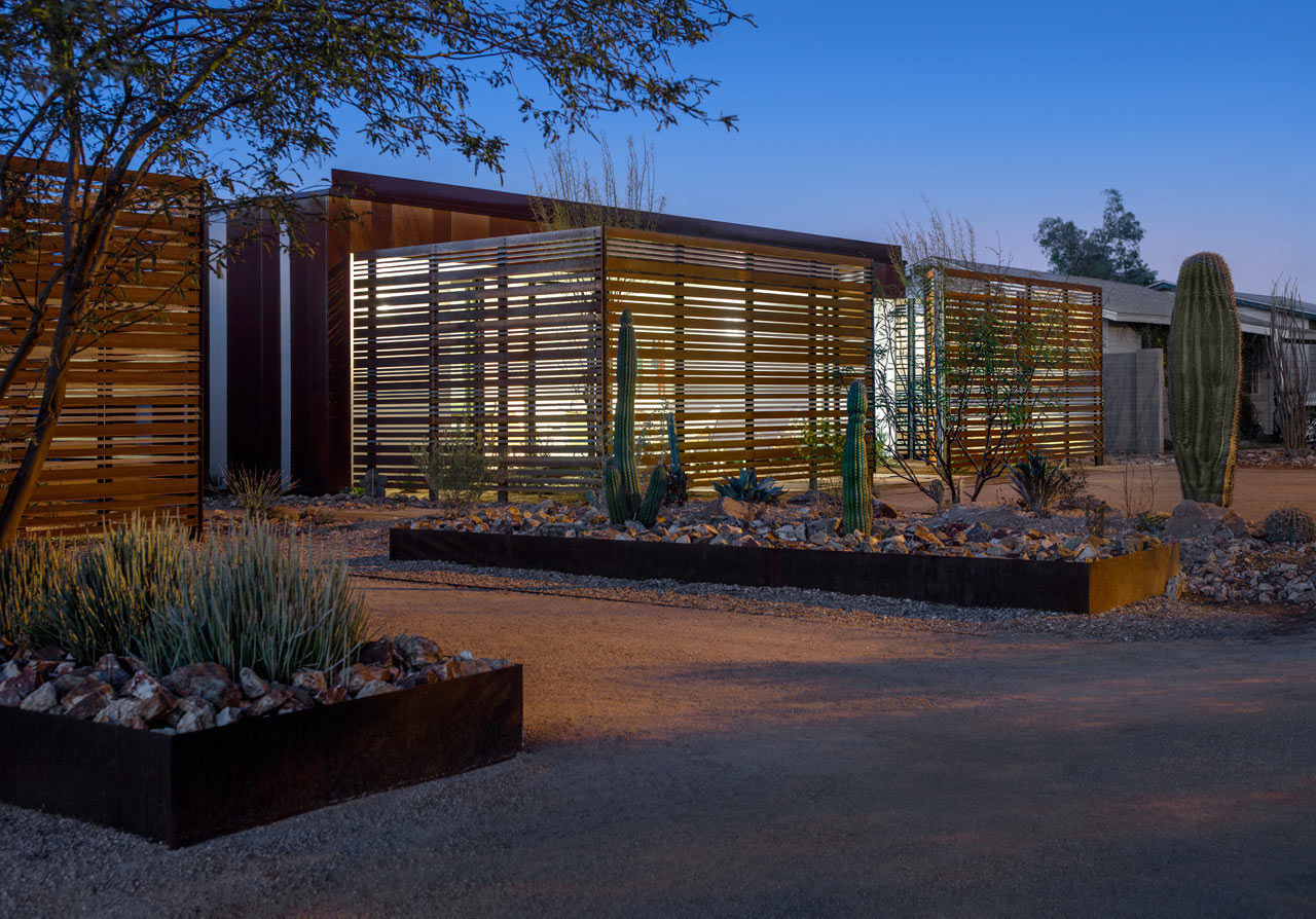 A net zero home in downtown phoenix design milk for Net zero home