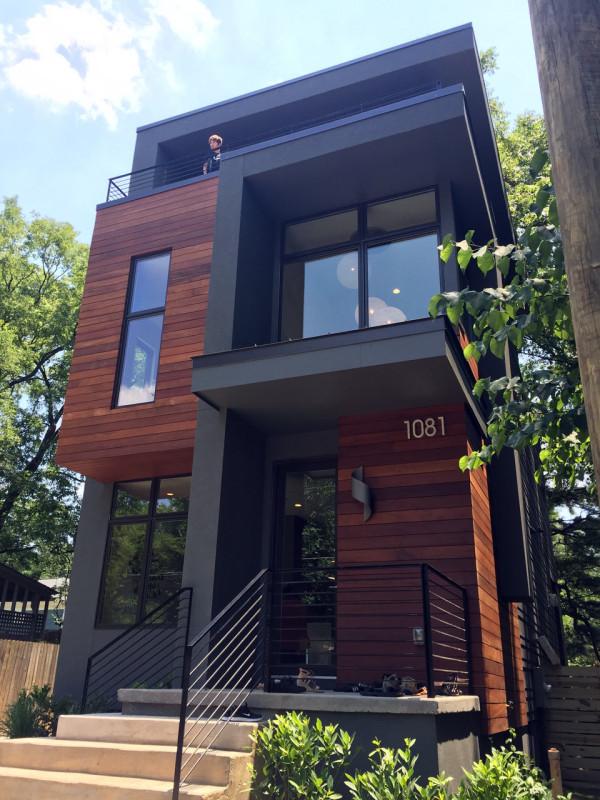 Modern Architecture Atlanta exploring atlanta's modern homes - design milk