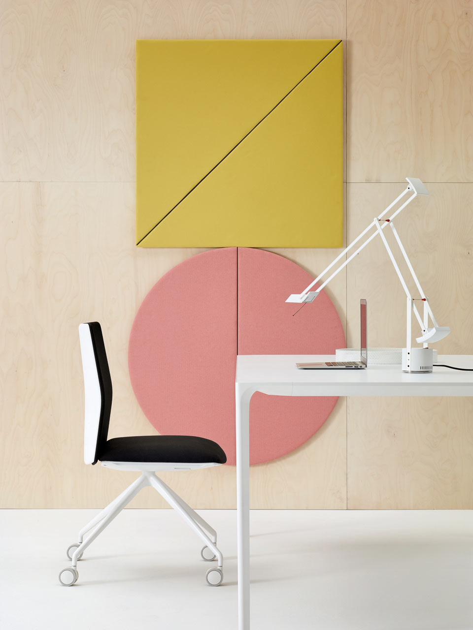 Geometric Acoustic Wall Panels by Arper – Spazz Captain