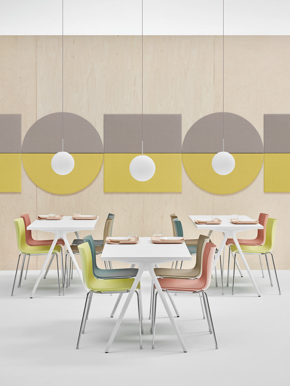 Geometric Acoustic Wall Panels by Arper - Design Milk