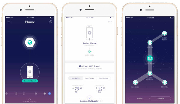 Users can monitor WiFi signal speed and strength via a graphical app that hides away much of the technical jargon that confuses everyday users, simplifying the process and maintenance of any network.