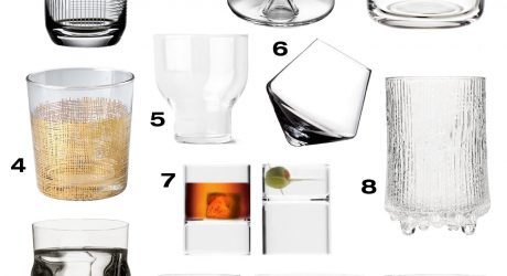 Glassware: 10 Cool Modern Ways to Drink Your Beverages
