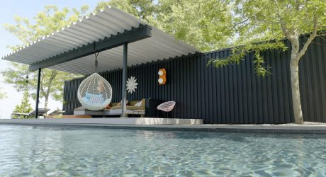 10 Modern Outdoor Spaces with Swings for Relaxing