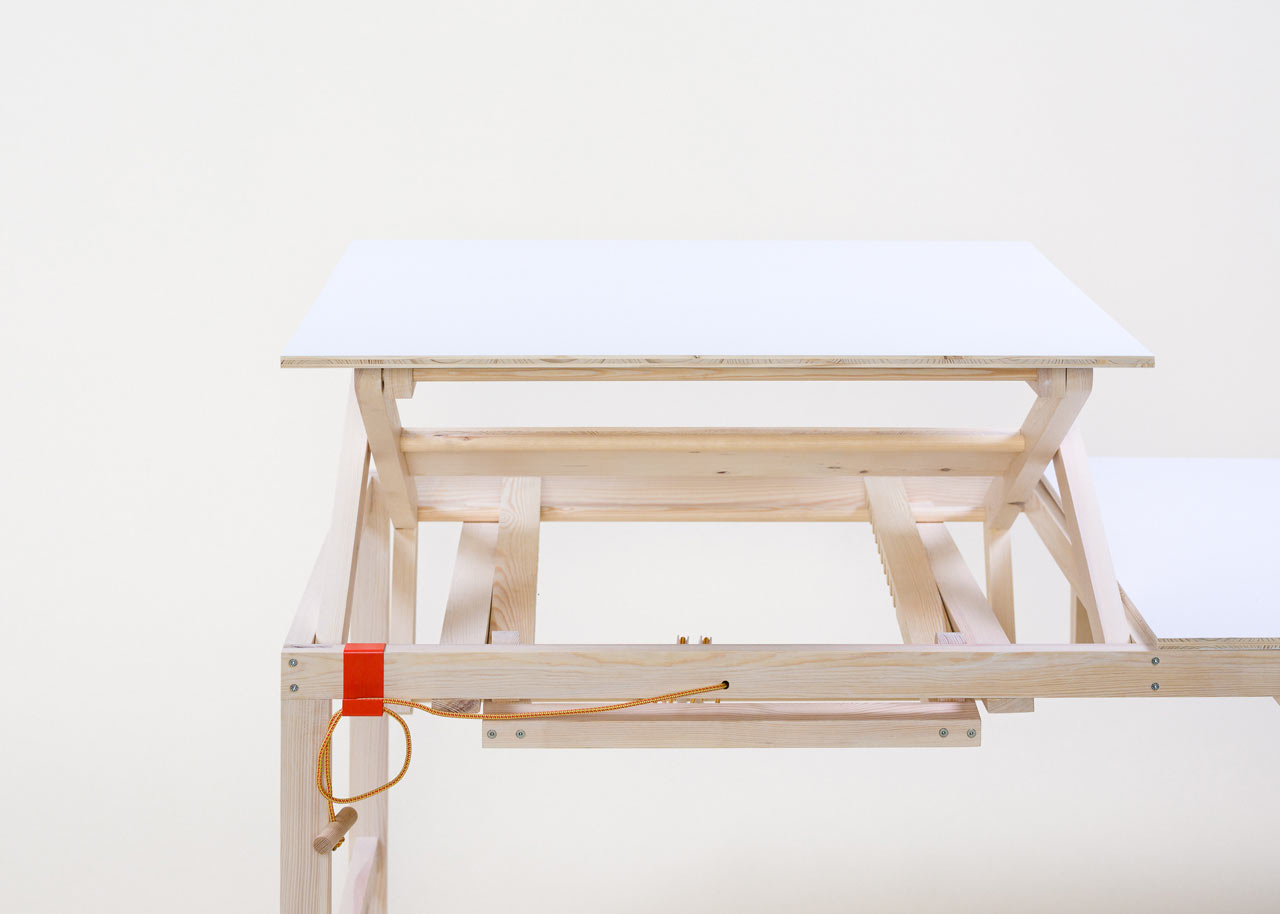 A Height Adjustable Working Table By Sebastian Zachl ...