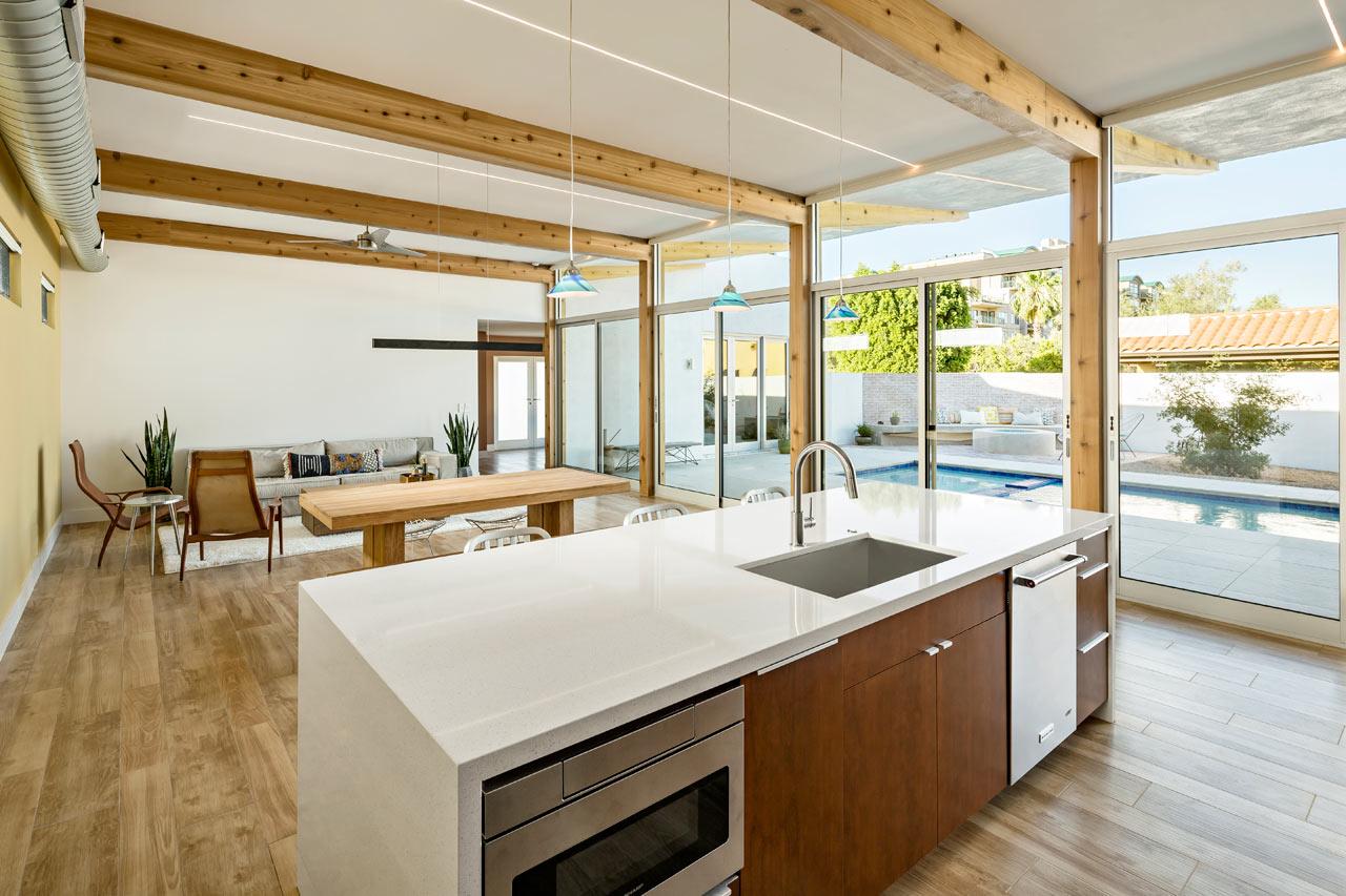 A Modern Courtyard House In Phoenix Design Milk