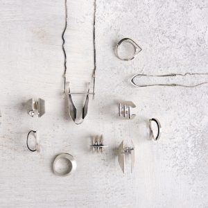 Architecture-Inspired Jewelry by Vika Mayzel