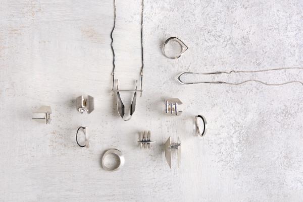 Architecture-Inspired Jewelry by Vika Mayzel