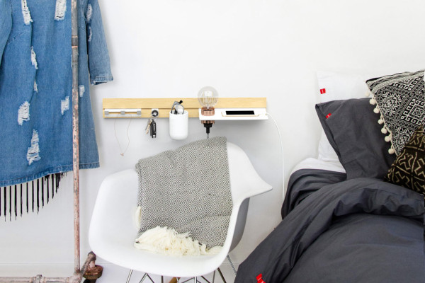 Wallace: A Modular Shelving System for Every Room