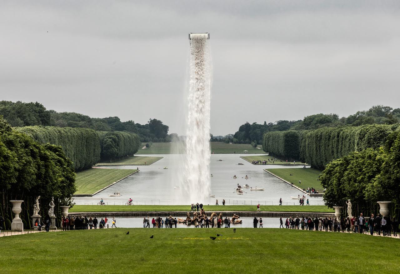 Olafur Eliasson Installs Massive, Man-Made Waterfall at Versailles