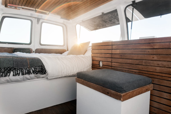 A Used Cargo Van Becomes Mobile Studio Design Milk