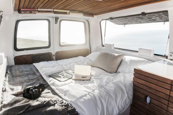 Van Interior Design A Used Cargo Van Becomes A Mobile Studio  Design Milk