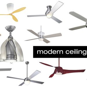 10 Modern Ceiling Fans That Are a Breath of Fresh Air