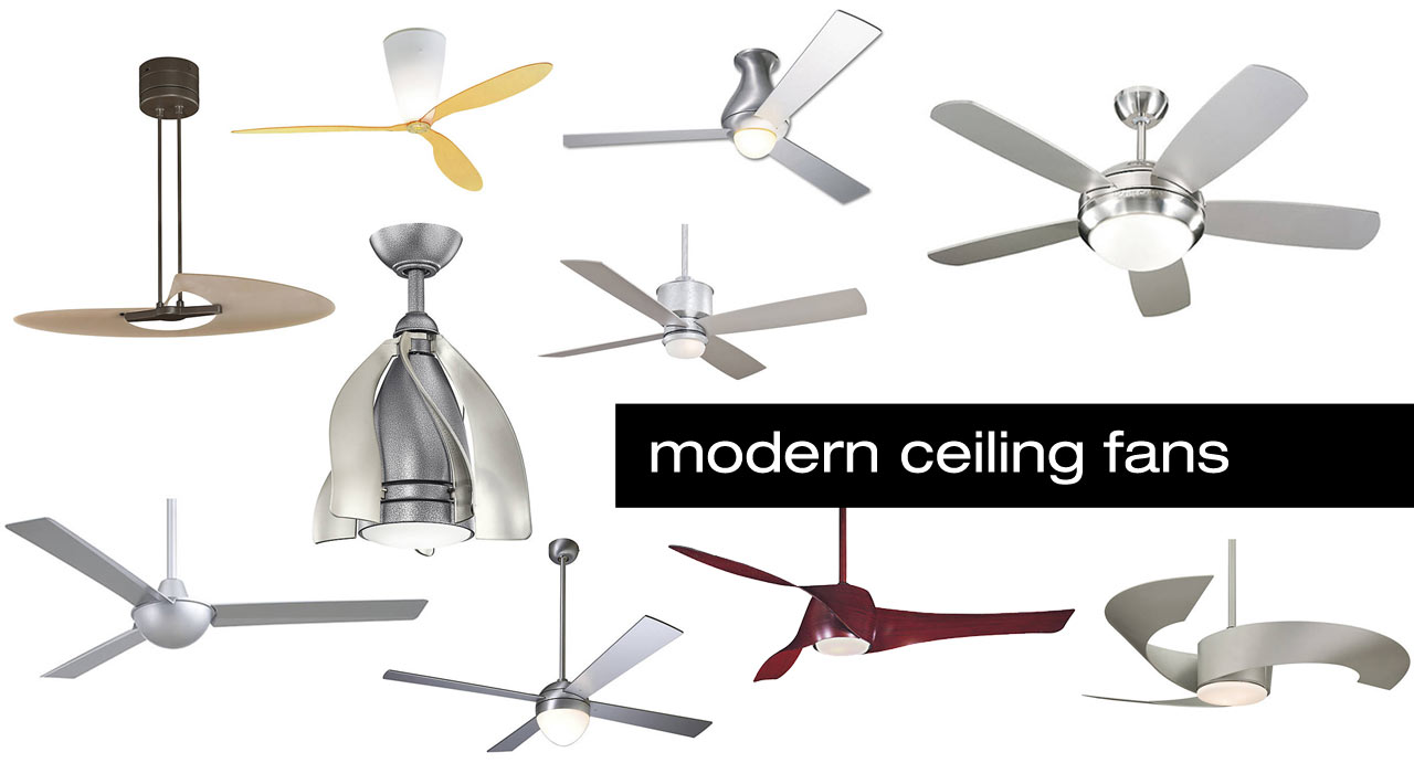 10 Modern Ceiling Fans Design Milk