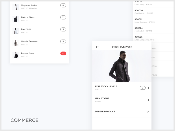 Squarespace Mobile Commerce
