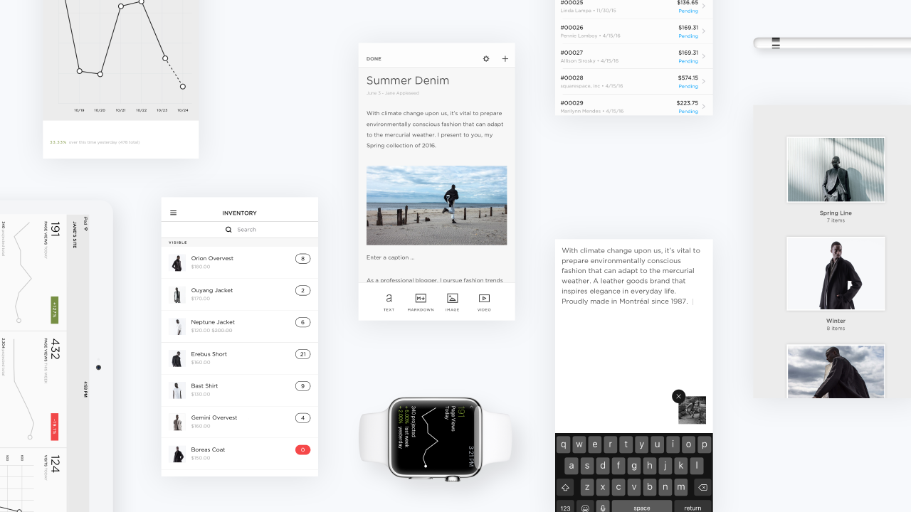 On the Go with Squarespace Mobile