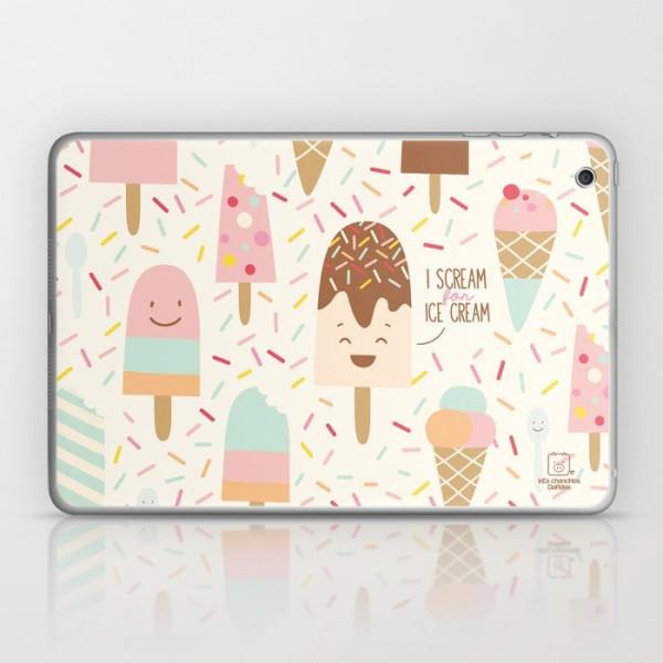 i-scream-for-ice-cream-laptop-skin