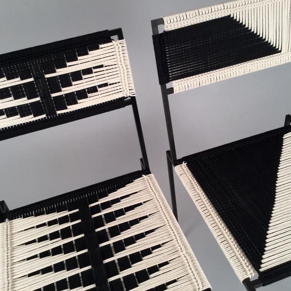 Peg Woodworking: Modern textiles meet modern furniture meet craft