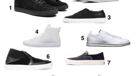 Our 10 Favorite Monochromatic and Minimalist Sneakers