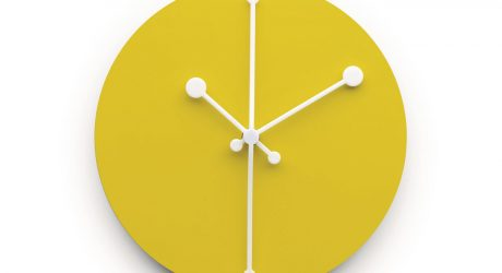 Alessi Launches New Range of Wall Clocks
