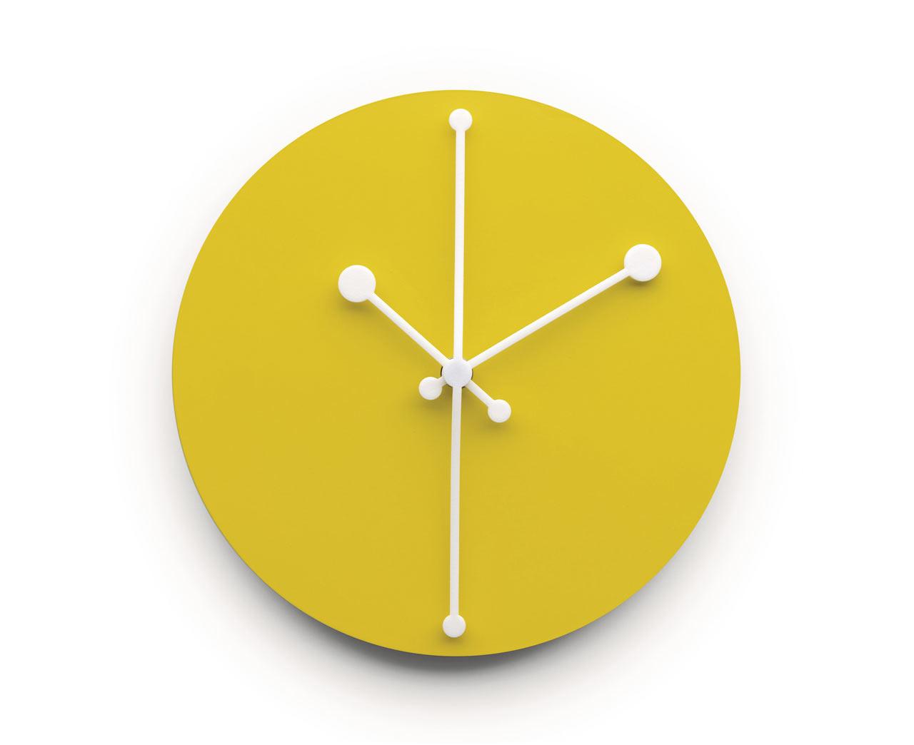 Alessi Launches New Range Of Wall Clocks Design Milk