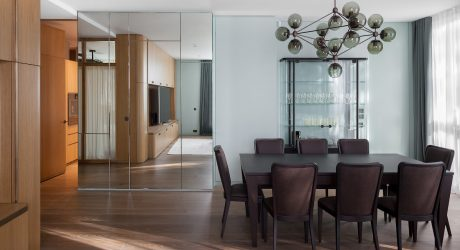 Three Apartments Become One in Moscow