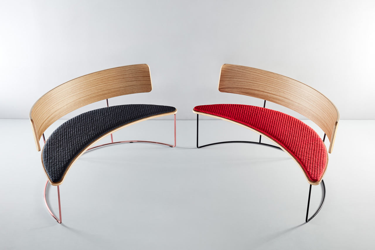A Seating Collection Inspired by the Boomerang