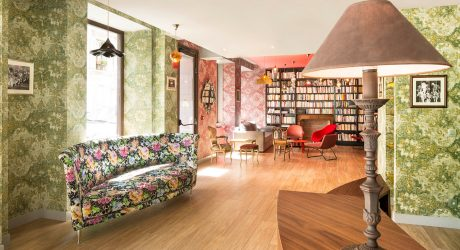 A Colorful, Cabaret-Inspired Hotel in Paris